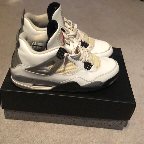 "1ce05c5e53f0 Jordan Other - Air Jordan retro ""white cement"" 4 s"